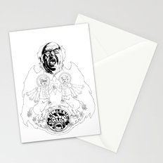Two Horses, Tim and Eric (B&W) Stationery Cards