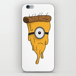 Minion Pizza iPhone Skin