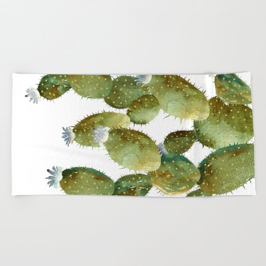 BIG Cactus! Beach Towel