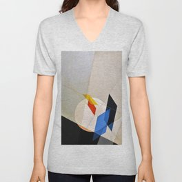 Laszlo Moholy-Nagy - A 18 - Digital Remastered Edition Unisex V-Neck