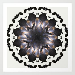 space mandala #5 Art Print