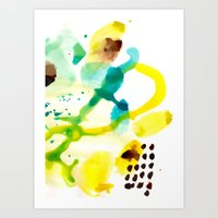 Abstract 111 Art Print