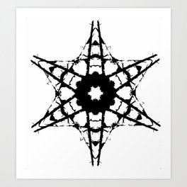 The Creating Of A Star Art Print