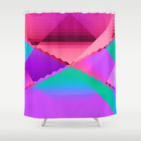 computer Shower Curtains featuring Computer Dreams by Blank & Vøid