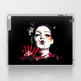 Japanese Creepy Geisha Laptop & iPad Skin