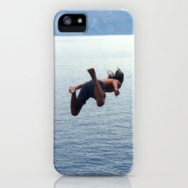 Free Falling (Crater Lake) iPhone Case