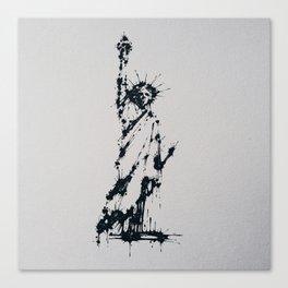 Splaaash Series - Liberty Ink Canvas Print