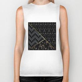 Geometric shapes . Biker Tank