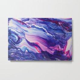 Tranquil Swirl Hybrid- Painting Metal Print
