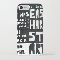 coldplay iPhone & iPod Cases featuring stART by Ines92