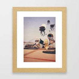 Fear and Loathing on Tatooine Framed Art Print