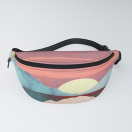 Pink Oasis Fanny Pack