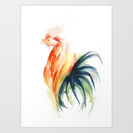 Freak With A Beak Art Print