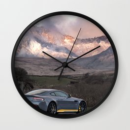 Aston Martin V12 Wall Clock
