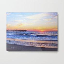 Topsail Sunset Metal Print