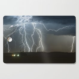 Lightning Cluster Cutting Board