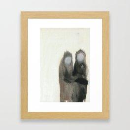 Gossips Framed Art Print