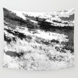Perseverance Black & White Wall Tapestry