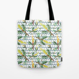 Beautiful Australian Native Grevillea Flower Print Tote Bag