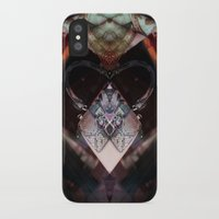 brussels iPhone & iPod Cases featuring Rorschach bag brussels belgium by KoZtar