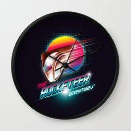 The Rocketeer Wall Clock