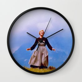 Julie Andrews, Sound of Music Wall Clock