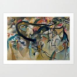Composition 5 Wassily Kandinsky, 1911 Art Print