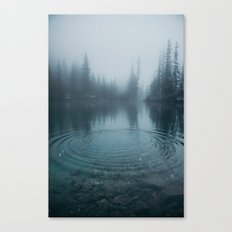 Grassi Lakes II Canvas Print