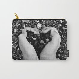 Heart in Hand Carry-All Pouch