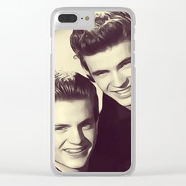 The Everly Brothers Clear iPhone Case