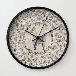 Lala Llama Wall Clock