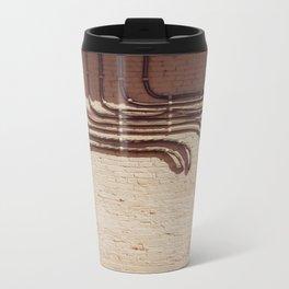 Electric Abstract Metal Travel Mug