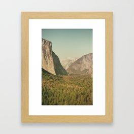 Yosemite Valley XI Framed Art Print
