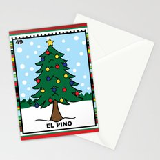 Christmas Loteria El Pino Stationery Cards