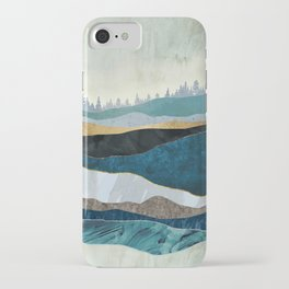 Turquoise Hills iPhone Case
