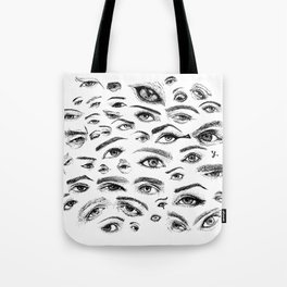 Eyes love you Tote Bag
