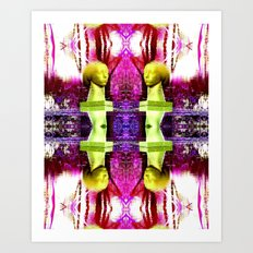 Heady Kaleidoscope Art Print