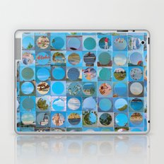 Postcard Aloha Laptop & iPad Skin