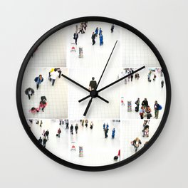 people ruch houer Wall Clock