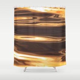 Water Sunset Pattern Shower Curtain