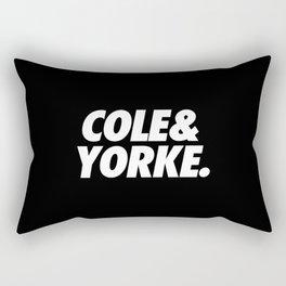 MUFC duo_ COLE & YORKE Rectangular Pillow