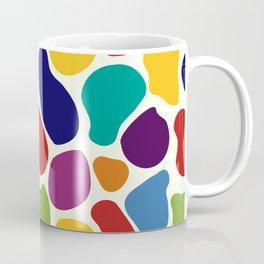 Rainbow Giraffe Splotches Coffee Mug