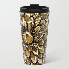 Moroccan Sunflower Travel Mug