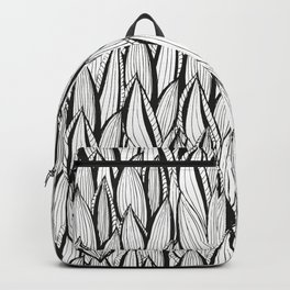 Abstract Leaves Backpack
