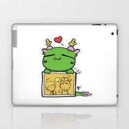 Kuma the dragon Laptop & iPad Skin