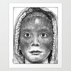 asc 611 - Le premier-né (The first man) Art Print