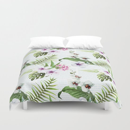 Tropical Summer #9 Duvet Cover
