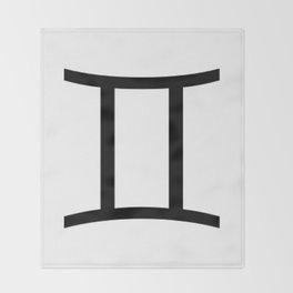 Gemini Throw Blanket