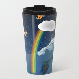 Intergalactic Undersea Pizza Party Travel Mug
