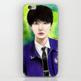 BTS Suga Fanart iPhone Skin